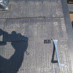 タスペーサー取付 スレート屋根の塗替え時に使用